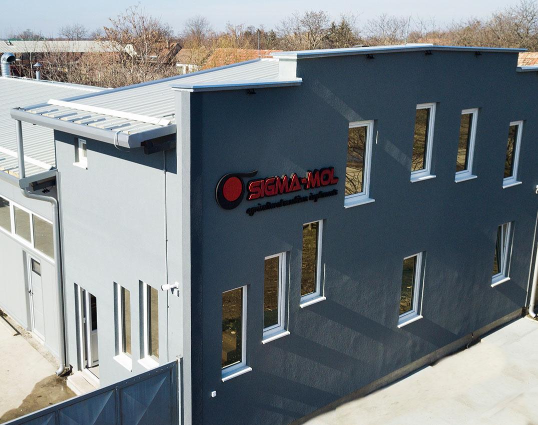 Fémfeldolgozó iparos műhely Sigma Mol