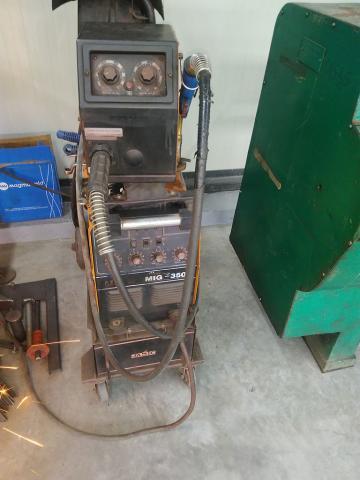 MIG 350 hegesztő gép