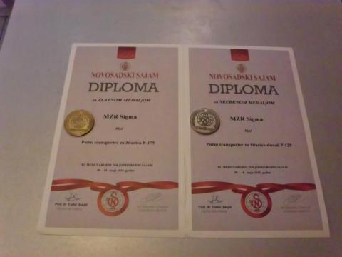 Sigma Mol diploma sajam 2015