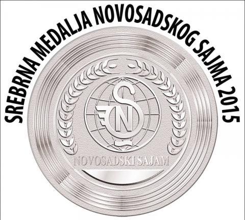 Sigma Mol srebrna medalja novosadski sajam 2015