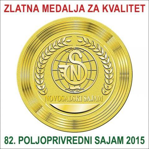Sigma Mol zlatna medalja novosadski sajam 2015