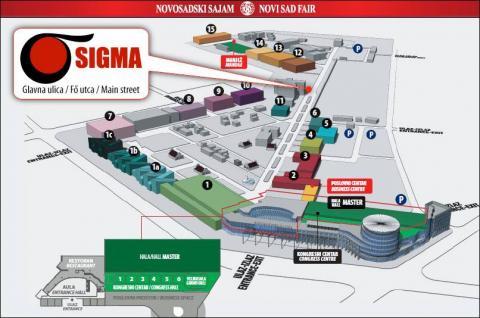 Sigma Mol na novosadskom sajmu 2016